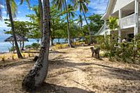 Villas in Malolo Island Resort and Likuliku Resort, Mamanucas island group Fiji.