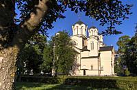 Sts. Cyril and Methodius Church, Ljubljana, Slovenia.