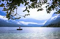 Lake Bohinj, Municipality of Bohinj, Triglav National Park, Slovenia.