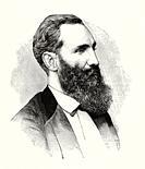 Portrait of Aristides da Silveira Lobo (Cruz do Espírito Santo 1838 - Barbacena 1896) jurist, politician and journalist and Brazilian republican aboli...