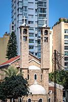 Saint Maron Maronite Church in Beirut, Lebanon.