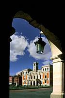 Plaza Mayoir. . Valladolid. . Spain.