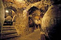 Wine cave. . Colmenar de Oreja (Madrid). Spain.