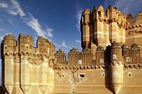 The Castle. . Coca. (Segovia). Spain.