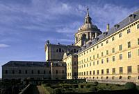 Monastery of San Lorenzo de El Escorial. . Madrid. . Spain.