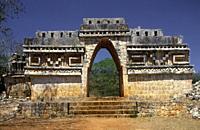 Mayan Arch. . Labna (Yucatán). Mexico.