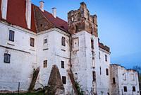 Castle in Breclav city in Czech Republic.