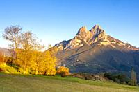 Pedraforca mountain, Barcelona, Spain.