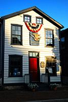 An artist studio is housed in a historic home in Gettysburg, Pennsylvania.