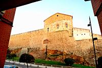 Wall of Plasencia, Caceres, Spain.