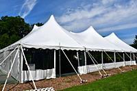 Wedding Tent, Geneseo, New York, USA.