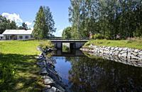 Telataipale canal in Sulkava, Finland.