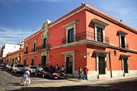 Colonial buildings at the historic center, Oaxaca, Oaxaca State, Mexico, Central America