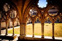 Cloisters of Sainte-Marie Cathedral, Bayonne.