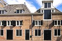 Equestrian house in Hellevoetsluis, The Netherlands, Europe.