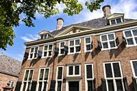 City Hall in Hellevoetsluis, The Netherlands, Europe.