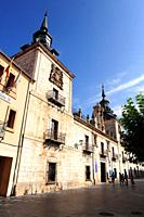 El Burgo de Osma, Old San Agustin Hospital (17th century). Soria province, Castilla y Leon, Spain.