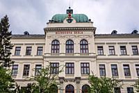 Primary school named after Petr Bezruc in Frydek-Mistek city in the Moravian-Silesian Region of Czech Republic.