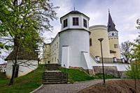 Castle in Frydek-Mistek city in the Moravian-Silesian Region of Czech Republic.
