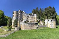 Europe, Luxembourg, Grevenmacher, Beaufort Castle.
