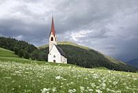 Eglise Saint-Jacques, Nessano / Nasen, Region du Trentin-Haut-Adige, Tyrol du Sud, Italie, Europe du Sud/St James Church at Nessano / Nasen, Trentino-...