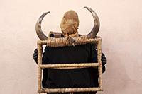 The Carnival bull, ROMANONES,. GUADALAJARA province, La Alcarria, . Castilla-La Mancha,SPAIN, EUROPE.