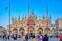 S. Marco Basilica, Venice, Italy.