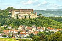 Stettenfels Castle in Untergruppenbach, Baden Württemberg, Germany.