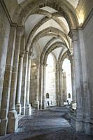 Ambulatory of the church of the Monastery Santa Maria de Alcobaça, Portugal.