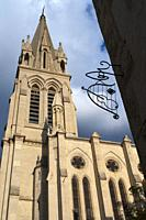 Sainte-Anne Church Montpellier France. . recommend a small square near the Arco del Triumfo, it is called Santa Ana and there is a church of the same ...