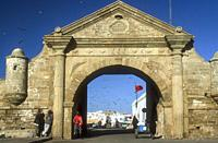 Porte de la Marine (1769) at Essaouira, an historic walled city on the Atlantic coasst of Morocco.
