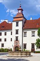 Trebon Castle, South Bohemia, Czech republic.