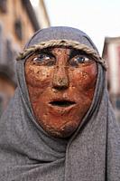 Lázaro, large-scale christmas nativity figures from SAN LORENZO DE EL ESCORIAL, MADRID province, SPAIN, EUROPE.