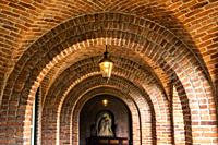 Old abbey in Ossendrecht, The Netherlands, Europe.