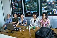CHINA Migrant workers from the countryside attending training programme to improve skills and learn legal rights in Shenzhen, Guangdong province. Phot...
