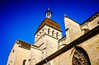 Notre Dame church in Beaune, Burgundy, France.