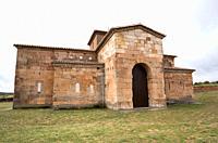 San Pedro de la Nave visigothic church 7-8th centuries. El Campillo, Zamora province, Castilla y Leon, Spain.