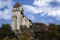 Medieval castle Lichtenstein in Maria Enzersdorf in Lower Austria near Vienna.