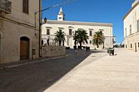 Trani, city in Puglia region, Italy.