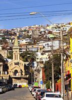 Valparaiso city. Chile.