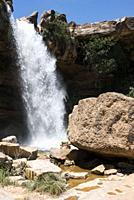 El Salt Waterfall. Teruel province.
