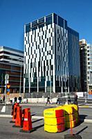 New Karolinska hospital and hotel, Stockholm, Sweden