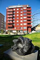 Luxoury apartments, Norra Djursgårdsstaden, Stockholm, Sweden