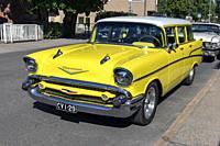 1957 Chevrolet Bel Air 4-door Station Wagon.