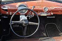 1950 Ford Crestliner convertible detail.