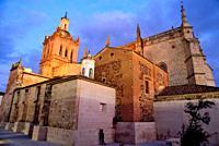 Cathedral of Santa Maria de la Asuncion, Coria, Caceres, Spain