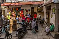 Travel to Zanzibar. Jaws Corner is a public meeting place where there is also internet access.