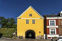 Landporten Landtor in Nyborg, Dänemark, Europa | fortress gate Landporten in Nyborg, Denmark, Europe.