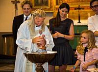 Christering of a child Stockholm, Sweden