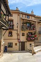 Ademuz town in the heart of Rincon de Ademuz, Valencia, Spain on May 21, 2020.